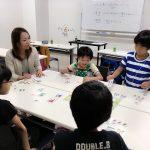 小学生向けのキャリア教育スクールの起業プログラムの授業をしてきました。